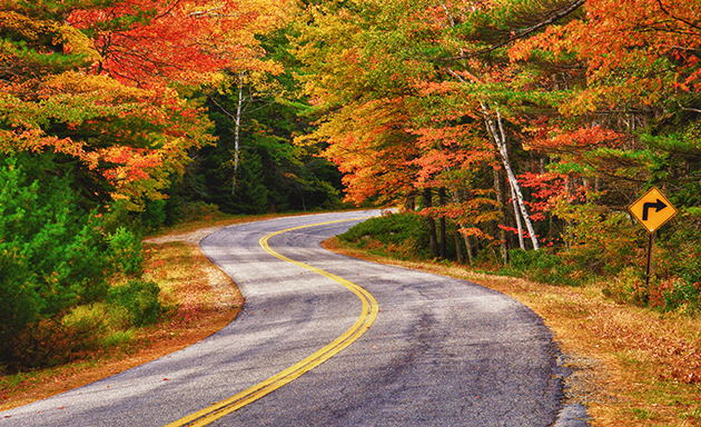 Lakes Region Scenic Fall Drive | The Summit Resort